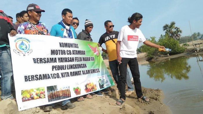Komunitas Motor CB Peduli Lingkungan di Masa Pandemi