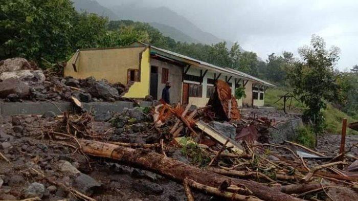 Bencana Banjir dan Longsor di Kabupaten Alor, 25 Warga Meninggal Dunia dan 20 Masih Hilang