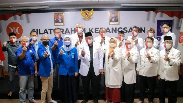 Ketua DPW PAN Jawa Barat, Desy Ratnasari Sambangi Markas PKS Jabar, Ini Kata Desy Ratnasari