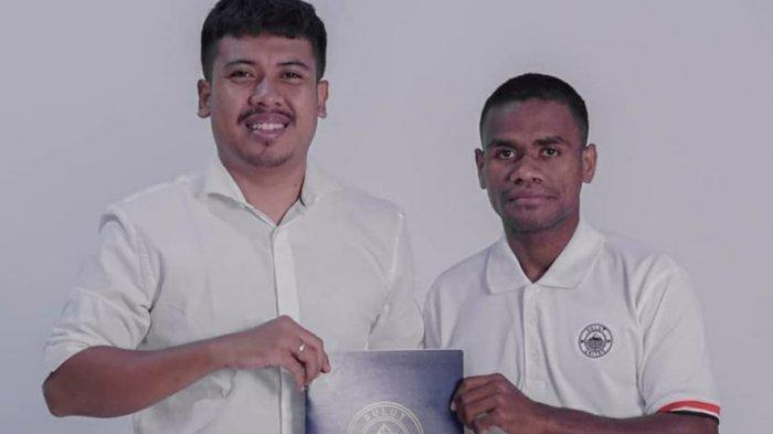 Dua Pemain NTT, Riko Malaikosa dan Ari Maring Gabung ke Sulut United