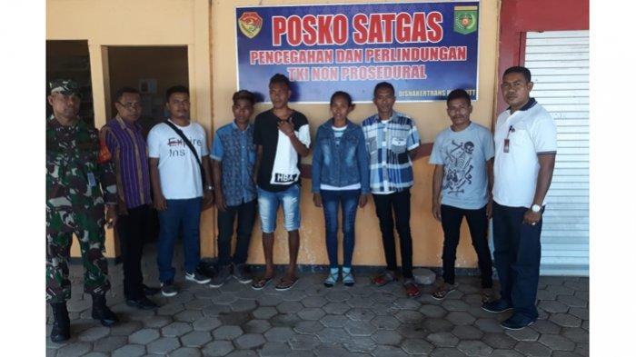 7 Orang Calon TKI Dicekal di Bandara El Tari Kupang