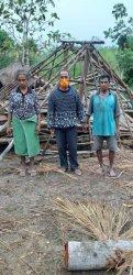 Pemkab Kupang Cepat Bantu Korban Angin Puting Beliung di Amabi Oefeto Timur