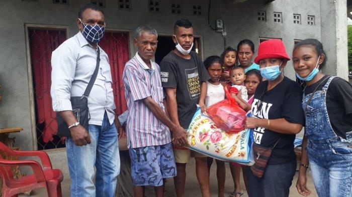 Sekolah Perbatasan Malaysia Peduli Korban Erupsi Ile Lewotolok