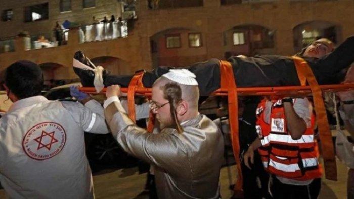 Aneh, Gedung Sinagoga Runtuh Sendiri, Dua Warga Israel Tewas, Ratusan Orang Terluka, Pertanda Apa?