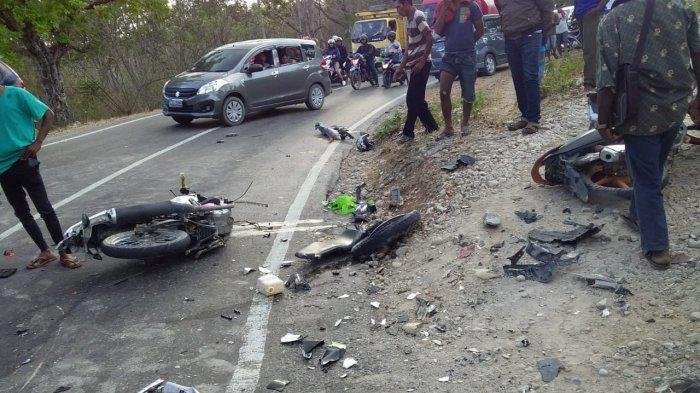 Korban Lakalantas Di Camplong 3 Meninggal, 4 Sekarat Dilarikan ke RS Naibonat