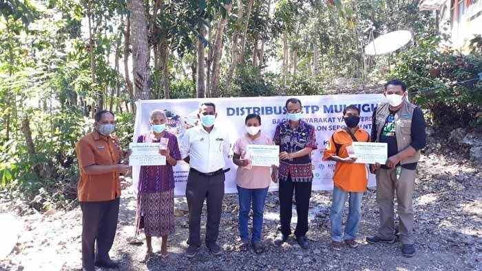 Korban Siklon Tropis Seroja di Kabupaten Kupang Dapat Program Bantuan Tunai Multi Guna
