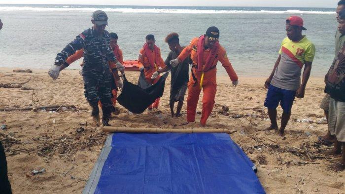 BREAKING NEWS : Ditemukan Tewas ! Korban Kecelakaan Laut di Pantai Selatan Flores Timur