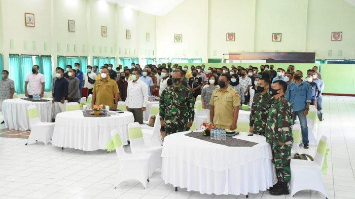 Korem 161/Wira Sakti Sosialisasi Binkom AGHT Cegah Konflik Sosial