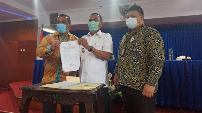 KPK Monev dengan Jajaran Pemkab Ende Dorong Komitmen Tingkatkan MCP