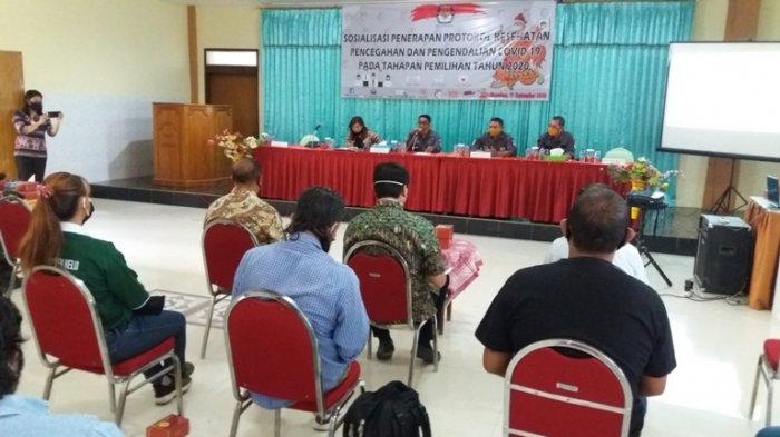 Jelang Pilkada di Belu: KPU Belu Sosialisasi Penerapan Protokol Covid-19, Simak INFO