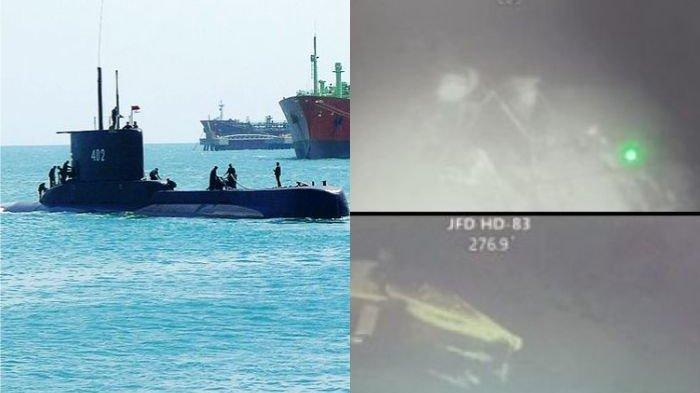 Jenazah Kru KRI Naggala Sempat Terlihat Saat Upaya Evakuasi Pengangkatan Badan Kapal Selam