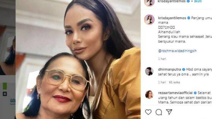 Ibunda Krisdayanti yang Masih Rupawan di Usia 71 Tahun, Pesona Kecantikan Tak Kalah dari Sang Diva