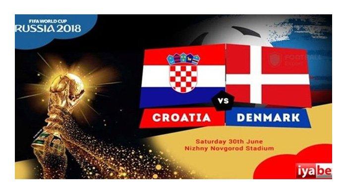 LIVE Trans TV Pukul 01.00 WIB, Begini Cara Menonton  Laga Kroasia vs Denmark di Babak 16 Besar