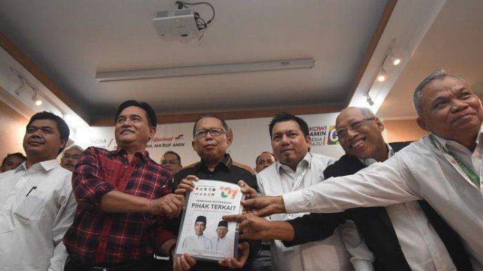 Kuasa Hukum Jokowi-Ma'ruf Sebut Pihak Prabowo Menentang Perintah Majelis Hakim MK, Ini Faktanya