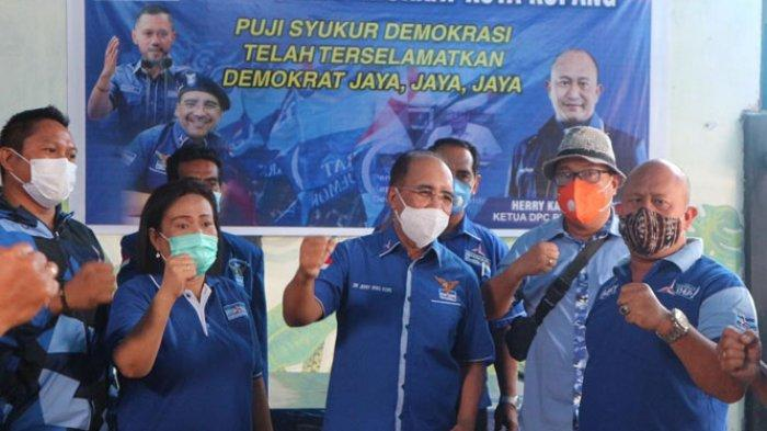 Kubu KLB Moeldoko Ditolak, Demokrat NTT Gelar Doa Syukur