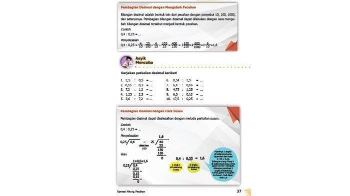 Kunci Jawaban Matematika Kelas 5 Halaman 37 38 Jawaban Soal Buku Senang Belajar Matematika Halaman All Pos Kupang