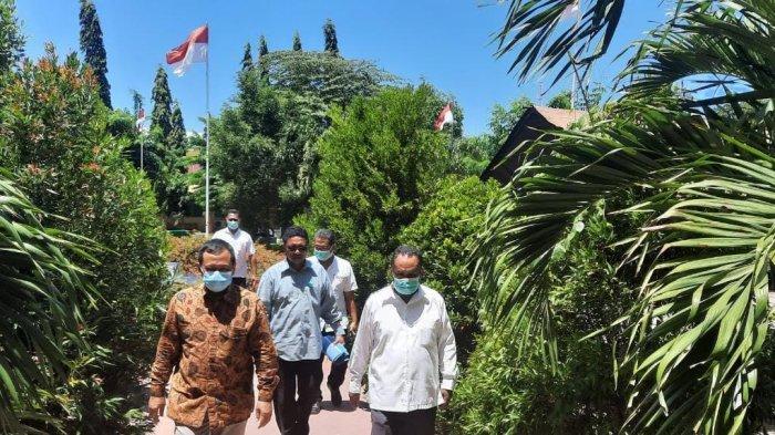 Sekertaris LLDIKTI Kupang Sambangi Unipa Indonesia