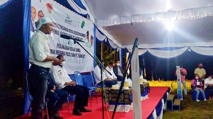 Kunker ke Ngada, Gubernur NTT Berkunjung ke Kebun Jahe Milik Bupati Ngada