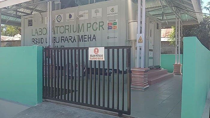 Lab PCR di RSUD Umbu Rara Meha Waingapu
