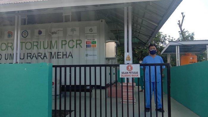 Laboratorium PCR RSUD Umbu Rara Meha Waingapu Miliki Kapasitas Periksa 96 Sampel Swab Per hari