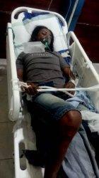 Kecelakaan Tunggal Depan Pospol Jalan El Tari  Kupang, Tabrak Sisi Jalan, Pengendara Motor Sekarat