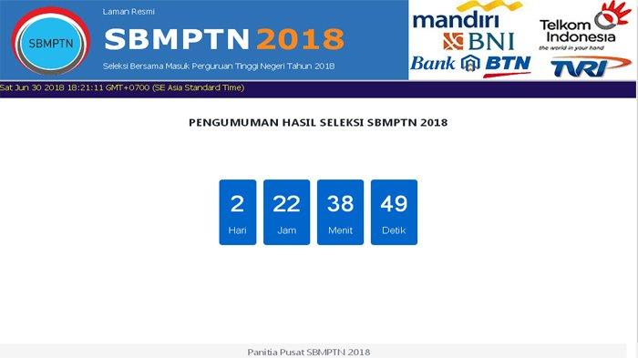 Pengumuman Hasil SBMPTN Undana 2018, Cukup Pakai Hp, Ini Link Website yang Bisa Diakses