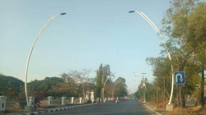Pemkot Pasang 1.800 Lampu Jalan Baru dan Bangun Trotoar Berstandar Nasional