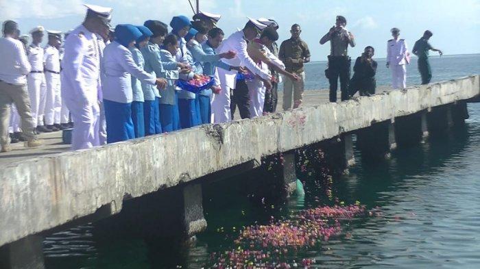 Lanal Maumere Peringati Pertempuran Laut Arafuru ! Ini Bentuk Kegiatannya