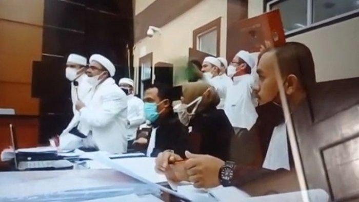 Tuding Rizieq Shihab Menggiring Saksi, Jaksa Penuntut Bilang Begini ke Majelis Hakim: Kami Keberatan