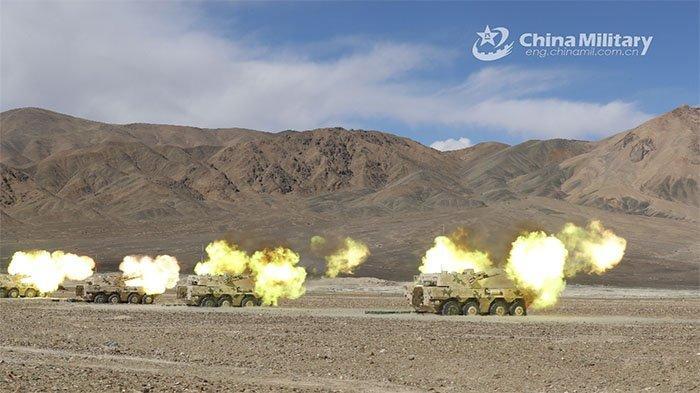 Persiapan Perang Lawan India, China Uji Senjata Baru Berdaya Ledak Tinggi di Dataran Tinggi