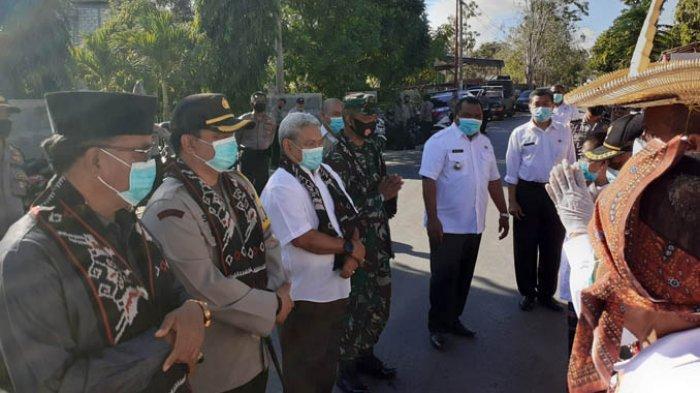 Launching Kelurahan Tangguh Liliba Berjalan Sesuai Protokol Kesehatan