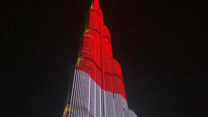 LED Burj Khalifa Tampilkan Bendera Indonesia dalam Peringatan 17 Agustus, Kata Yunita Purwaningtyas