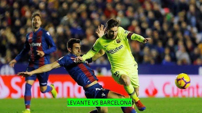 Live Streaming TV Online Vidio.com Levante vs Barcelona di beIN Sports 1 Sabtu 2/11 Jam 22.00 WIB
