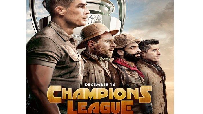 Hasil Drawing Liga Champions, Real Madrid vs Manchester City, Lyon vs Juventus, Napoli vs Barcelona
