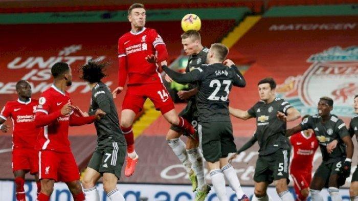 Siaran Langsung Liga Inggris, Manchester United vs Liverpool, Duel Panas di Old Trafford