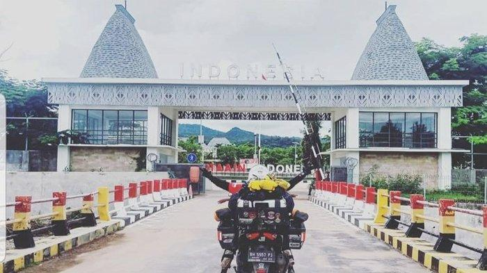 Suka Duka Lilik Gunawan dan Anaknya Naik Motor All New Nmax Sejauh 5.000 Km Jambi - Timor Leste