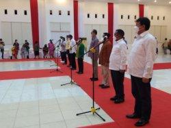Lima Pasang Bupati - Wakil Bupati Ikuti Gladi Bersih Acara Pelantikan Bupati Terpilih