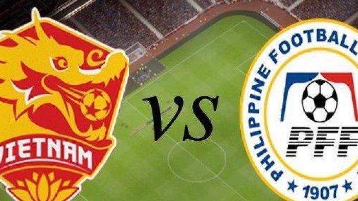 Link Live Bola Filipina vs Vietnam, Live Streaming iNewsTV  Semifinal Piala AFF 2018 Segera