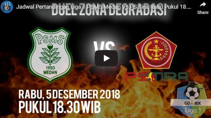 Link Live Bola PSMS Medan vs PS Tira Segera Dimulai, Live Streaming Indosiar Liga 1 2018