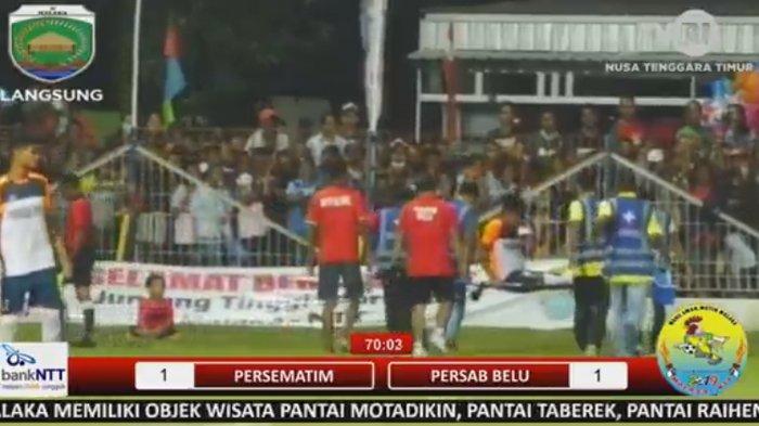 LIVE TVRI! Persematim vs Persab Belu, Masuki Babak Kedua El Tari Memorial Cup 2019 Malaka, Skor 1-1