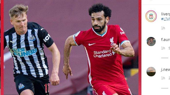 Hasil Akhir Liverpool vs Newcastle, Gol Injury Time Willock Buyarkan Kemenangan The Reds