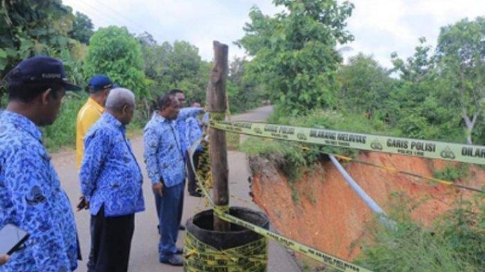 Longsor di Jalan Provinsi Atambua-Wedomu, Ini Tanggapan Anggota DPRD NTT Dapil Belu