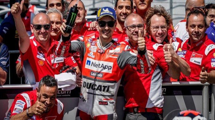 Jorge Lorenzo Tiba di Sirkuit Brno untuk Jalani Seri Balapan MotoGP Ceko 2018.