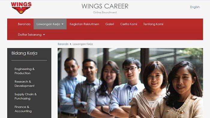 Lowongan Kerja Wings April 2021, Ada Posisi Untuk Fresh Graduate, Ini Syarat dan Link Lamar