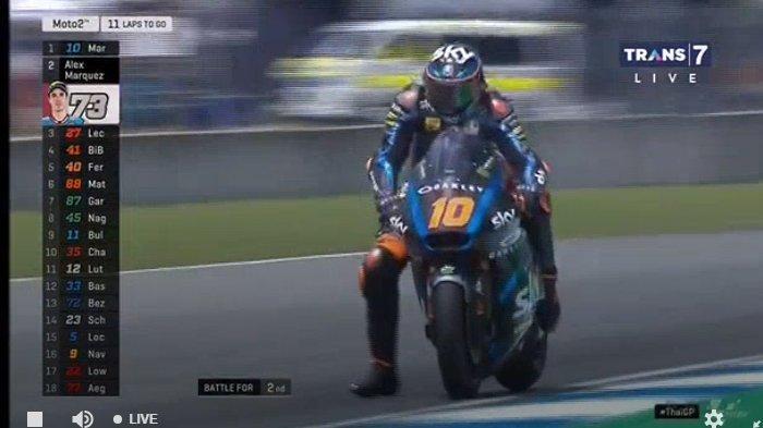 MotoGP Thailand 2019 - Adik Valentino Rossi Rebut Kemenangan Perdana, Adik Marc Marquez Nomor 2