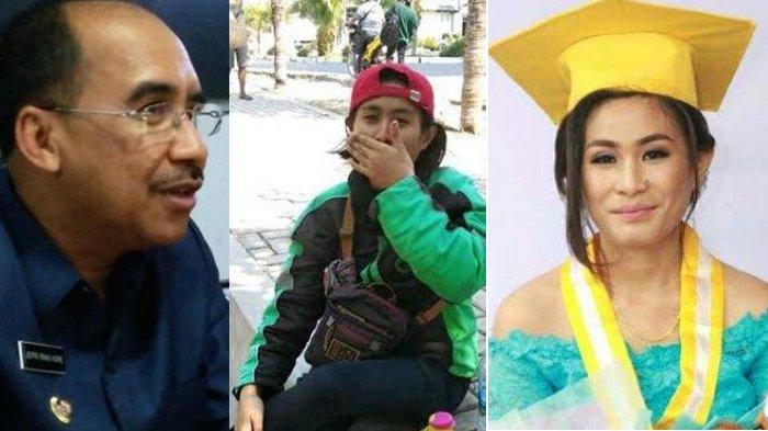 Lulusan Kebidanan Jadi Ojek Online Disambangi Walikota Kupang Jefri Riwu Kore, Begin Reaksinya