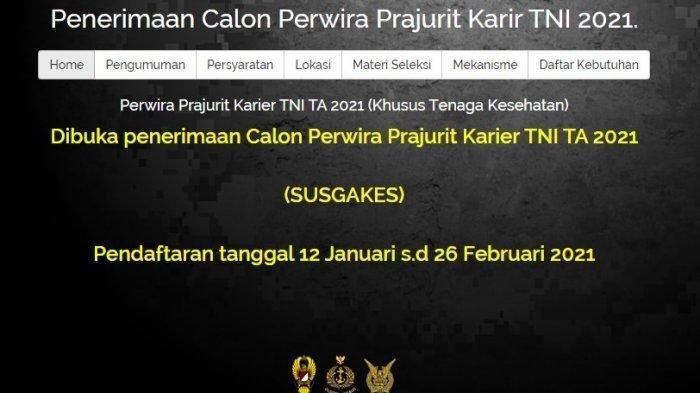 Lowongan Kerja di TNI Tahun 2021 Bagi D3 Hingga S1,Syarat, Waktu,Link serta Lokasi Pendaftaran