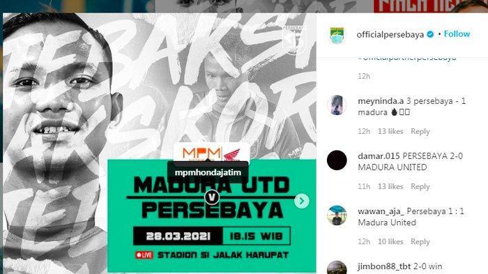 Update Hasil & Klasemen Piala Menpora 2021, PSS vs Persela, Madura United vs Persebaya Live Indosiar