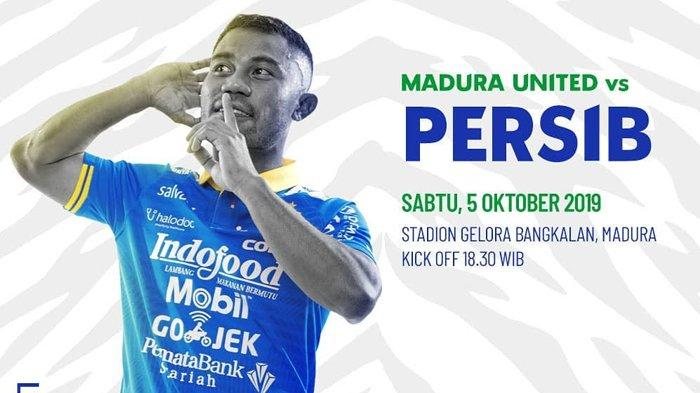 SEGEREA BERLANGSUNG Live Streaming Indosiar Madura United vs Persib Bandung Liga 1 2019 Jam 1830 WIB