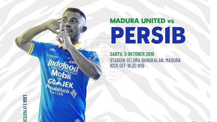 LIVE STREAMING Madura United Vs Persib, Maung Bandung Akhiri Catatan Buruk di Kandang Sape Kerrab